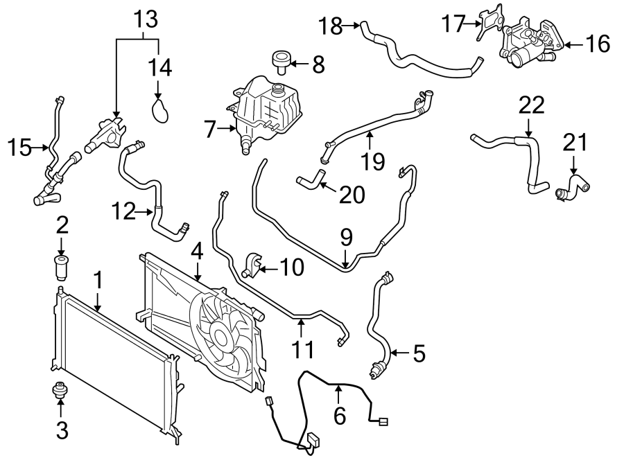 Mazda 3 Engine Coolant Overflow Hose  W  Mazdaspeed