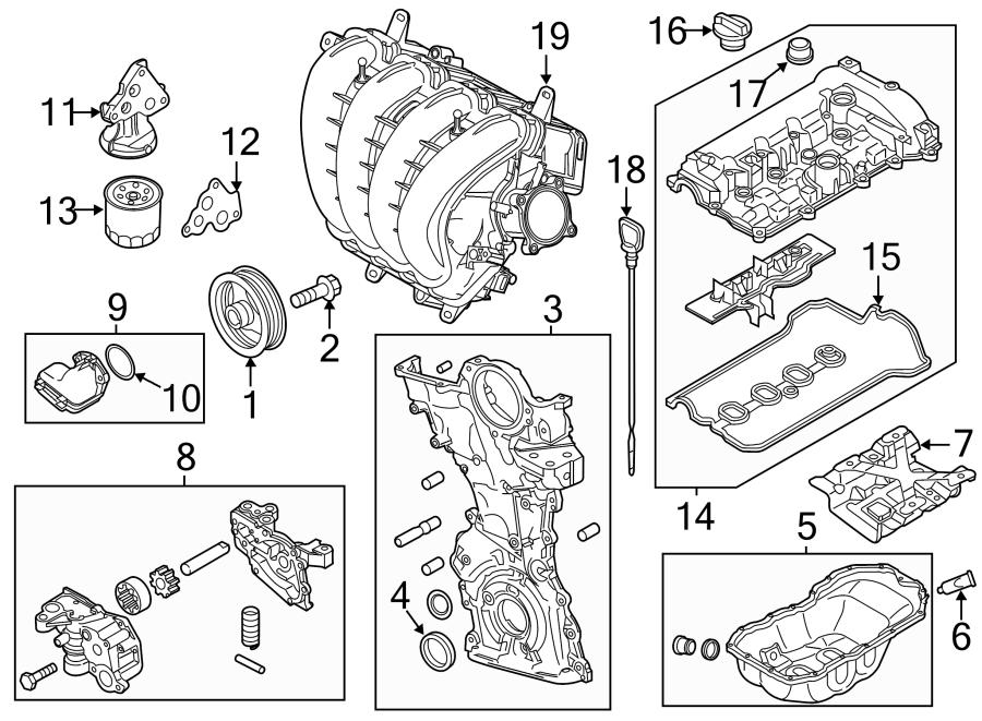 Mazda 3 Oil filter - 1WPE14302 | Mazda Online Parts ...