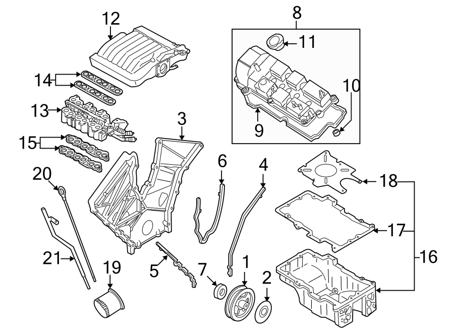 2000 Mazda Mpv Engine Oil Dipstick  2 5 Liter  3 0 Liter