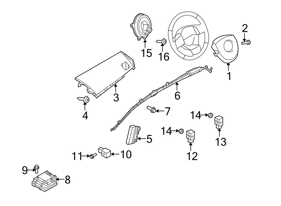 Mazda Cx-9 Impact Sensor  Bag  Air  Sensors