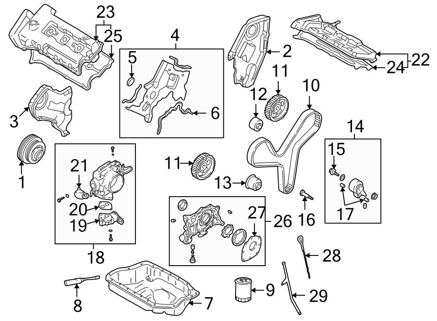 Mazda Miata Fuel Injection Idle Air Control Valve Gasket