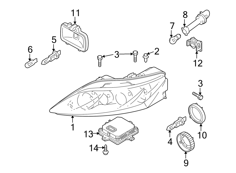 2018 Mazda 3 Headlight Wiring Diagram from www.zoomzoomnationparts.com