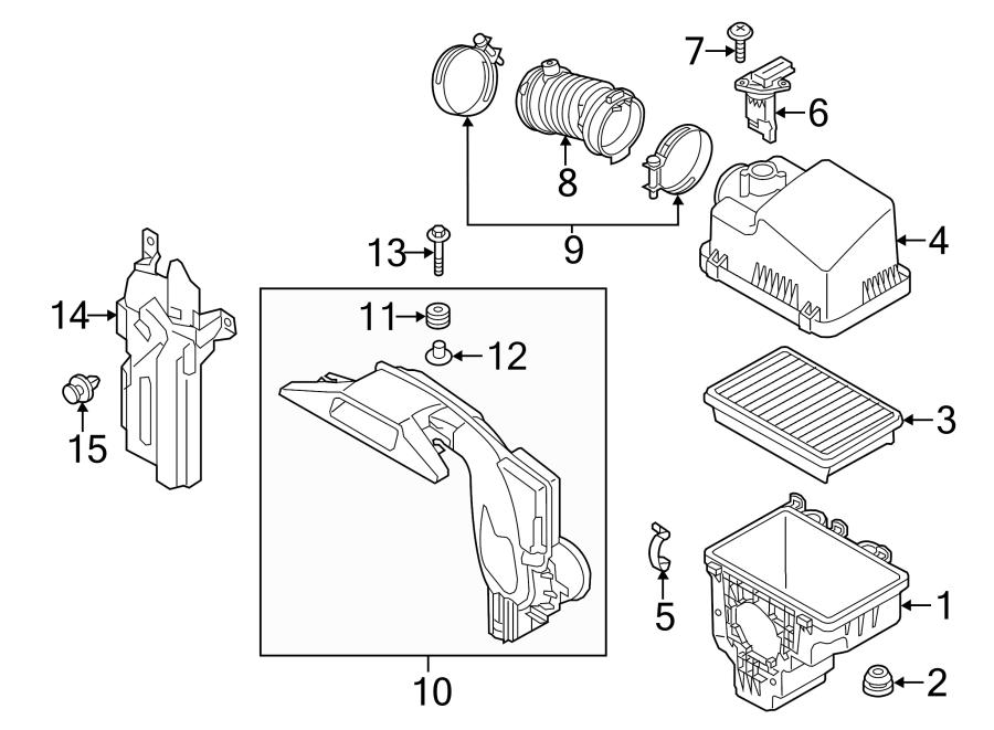 Mazda Cx-5 Clip  Rivet  Shield  Cover  Retainer   Front  Rear  Lower