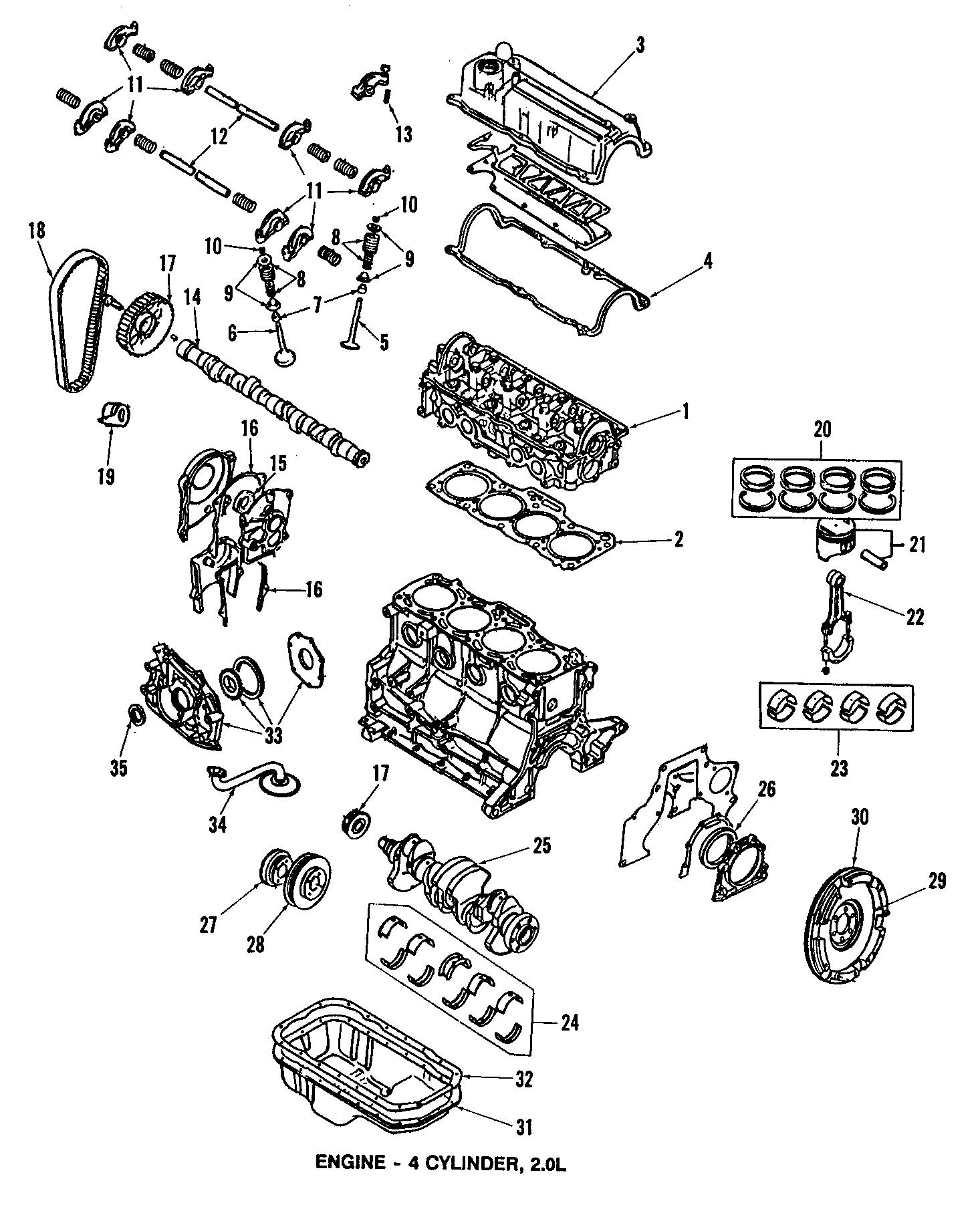 1987 Mazda Engine Timing Crankshaft Sprocket  Crankshaft  Pulley  Gear  T  Belt