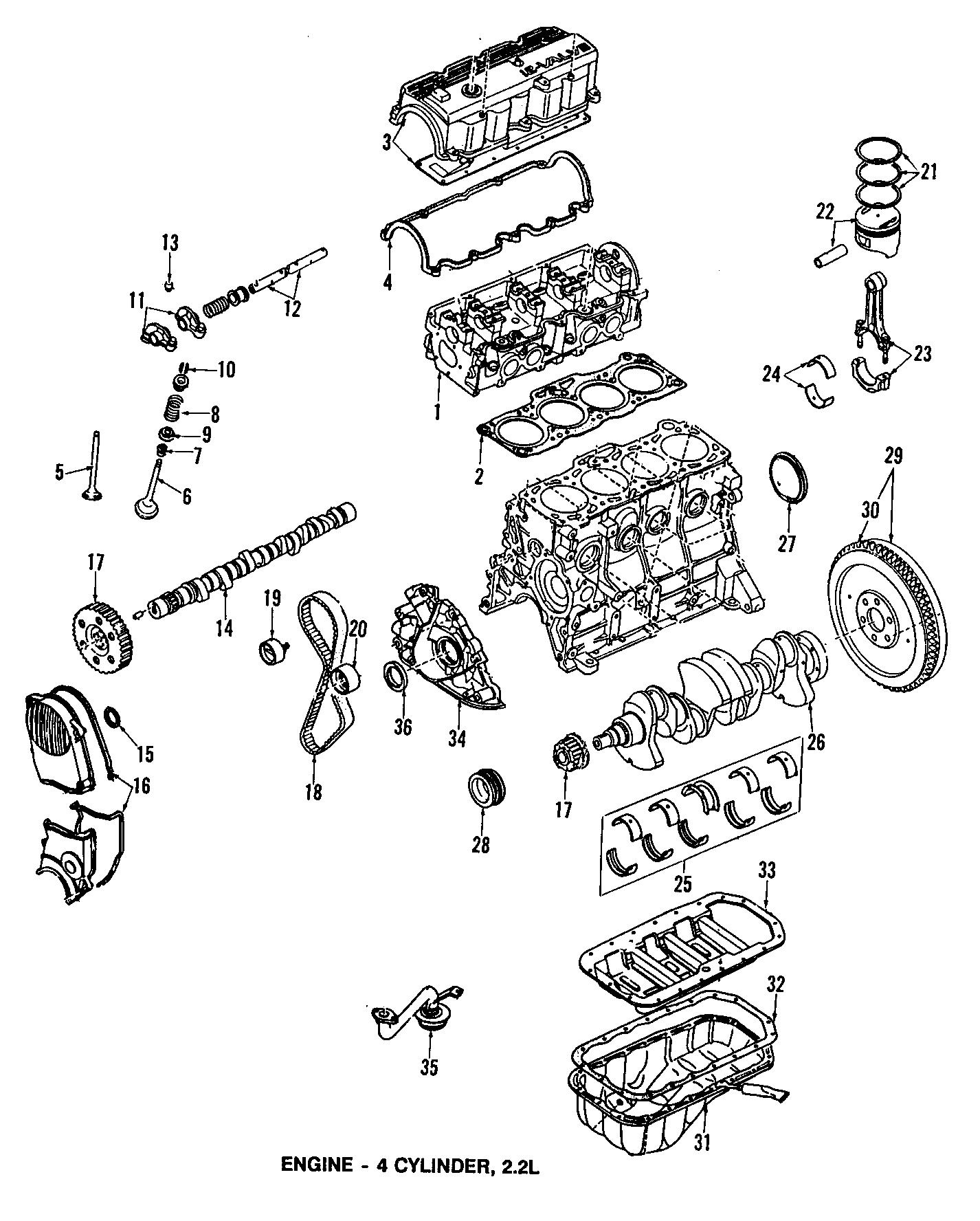 1987 mazda b2200 crankshaft gear  engine timing crankshaft