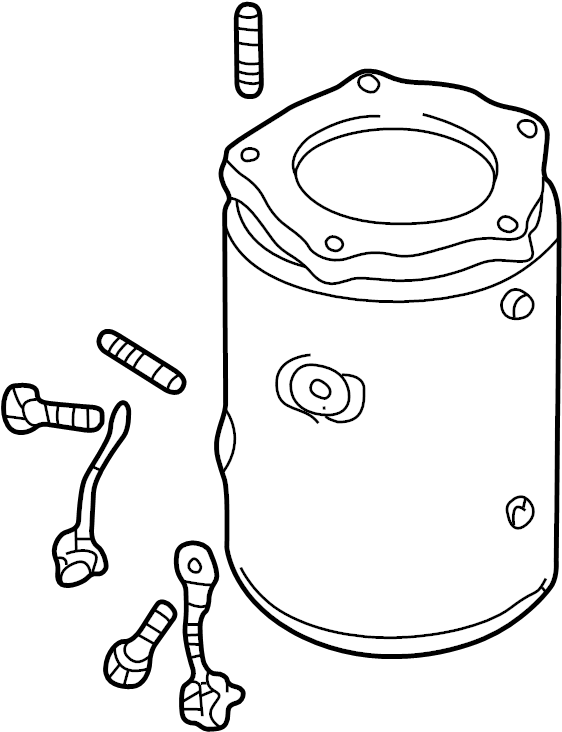 on 2001 Mazda Protege Exhaust System Diagram